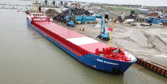 danbrit shipping, olivers wharf